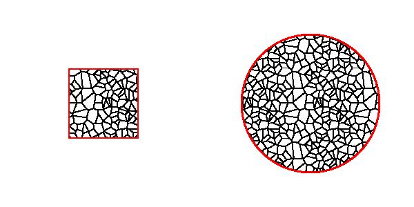 Ejemplo de la extensión Patrón Voronoi 2.