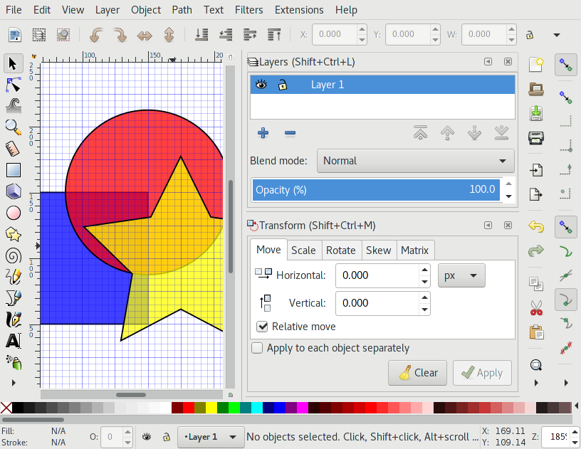 The Anatomy of the Inkscape Window