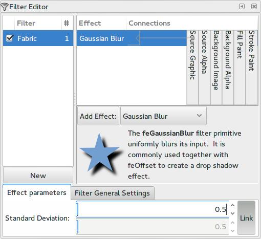 Filter Dialog image.